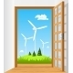 Open the Door to Green Energy - GraphicRiver Item for Sale