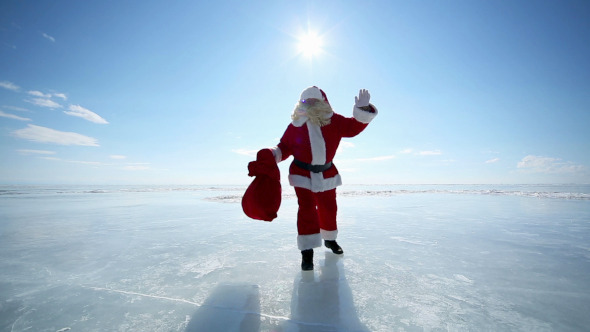 Travel Santa on Lake Baikal 5