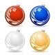 Colorful Christmas Balls - GraphicRiver Item for Sale