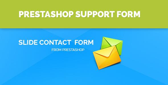 CodeCanyon Feedback Contact form for Prestashop 8887407