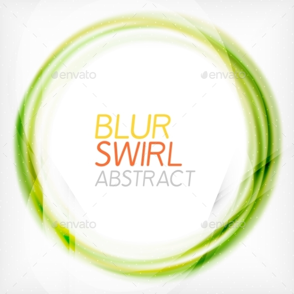 GraphicRiver Business Color Swirl Minimal Design Template 8887493