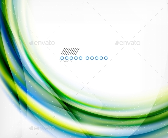 GraphicRiver Business Color Swirl Minimal Design Template 8887503