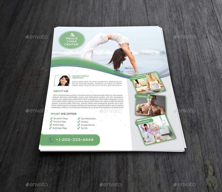 Yoga Flyer Template