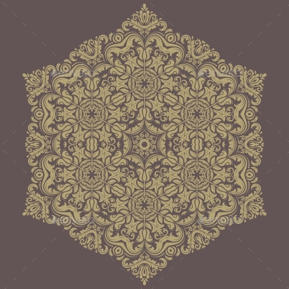 GraphicRiver Orient Vector Pattern Abstract Background 8887727