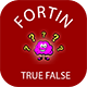 Fortin True False Quiz - CodeCanyon Item for Sale