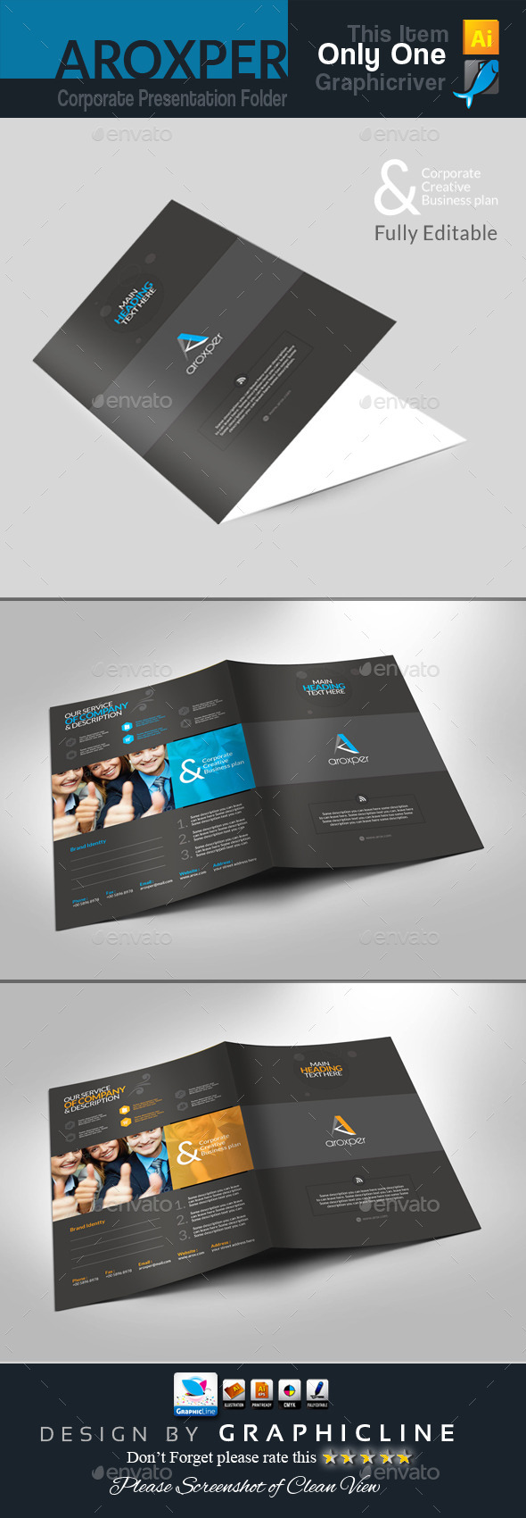 GraphicRiver Aroxper Corporate Presentation Folder 8888632