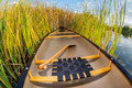 canoe and cattails - PhotoDune Item for Sale