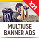 Multipurpose Marketing Banner Ad Set - GraphicRiver Item for Sale