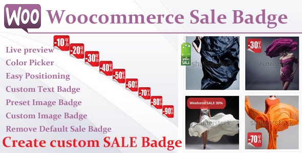 CodeCanyon Woocommerce Sale Badge 8888852