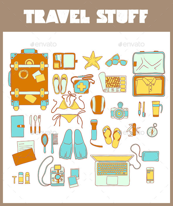 GraphicRiver Travel Stuff Tourism Vacation 8888888