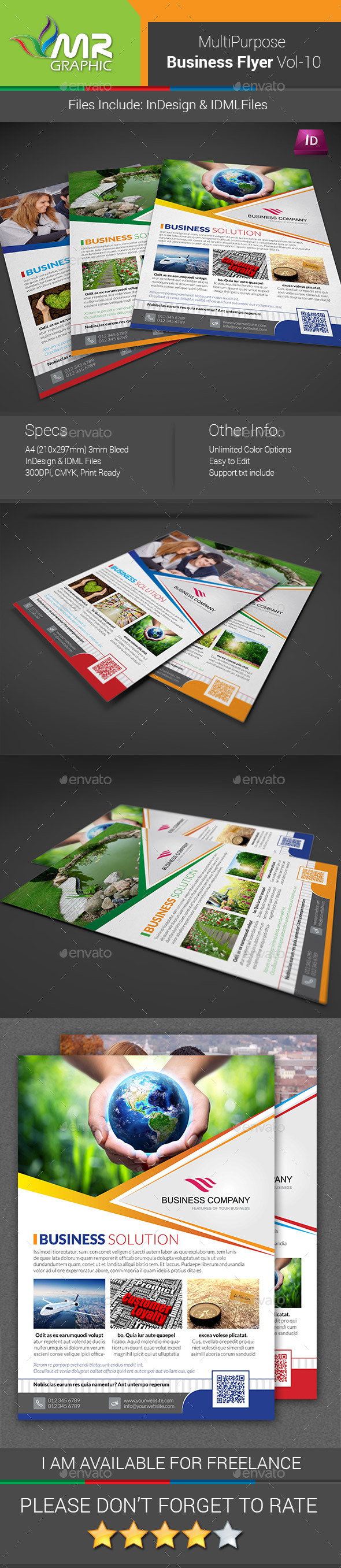 GraphicRiver Business Flyer Template Vol-10 8888907