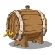 Wooden Barrel - GraphicRiver Item for Sale
