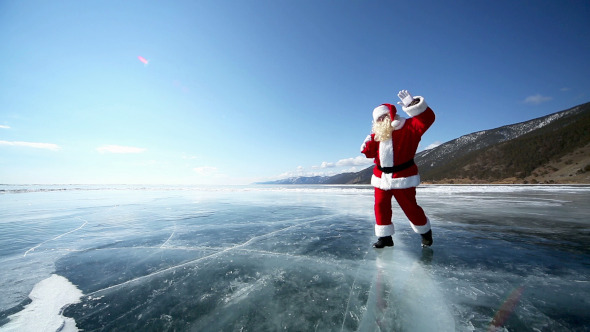 Travel Santa on Lake Baikal 6