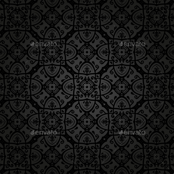 GraphicRiver Orient Seamless Vector Pattern Abstract Background 8889458