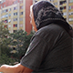 Grandmother on the Balcony - VideoHive Item for Sale