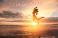 Happy jump sport woman - PhotoDune Item for Sale
