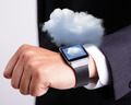 Cloud computing tech with smart watch - PhotoDune Item for Sale