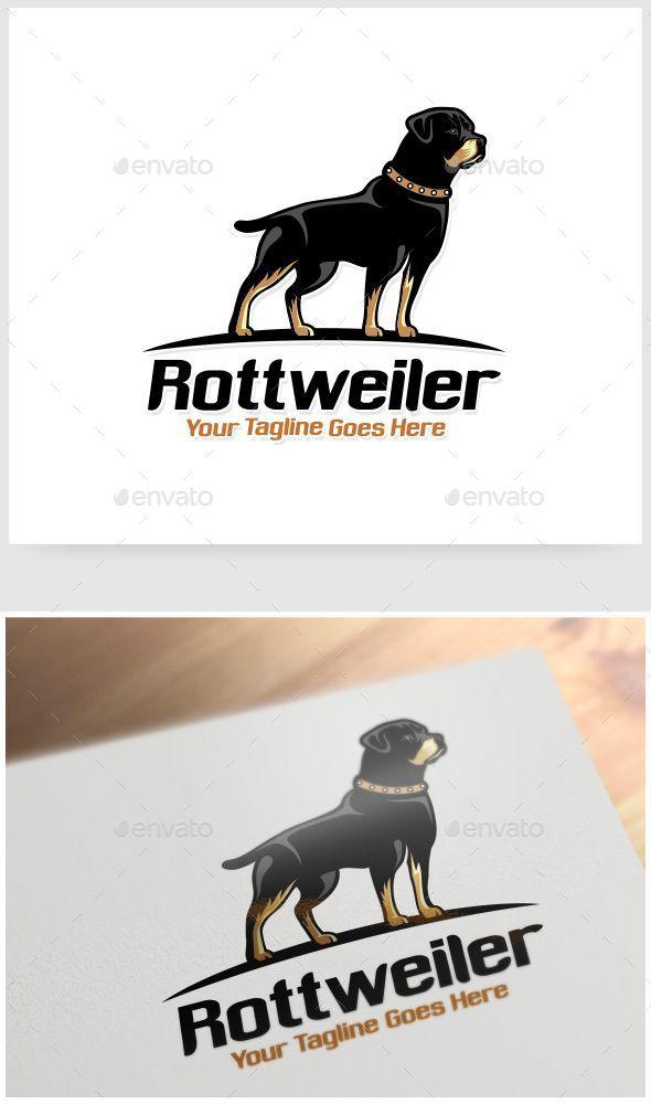 Rottweiler Logo Template