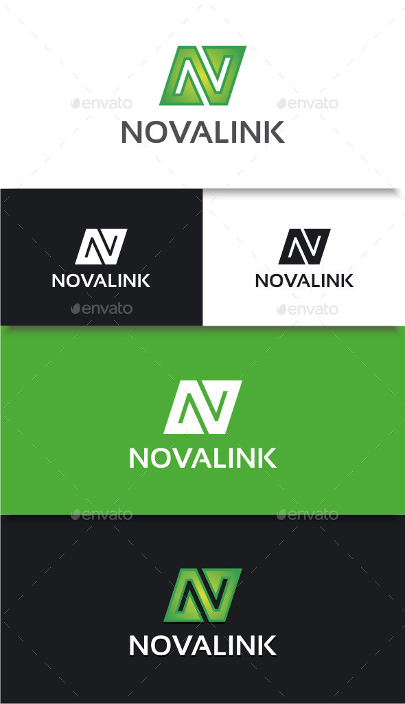 GraphicRiver Novalink Logo 8889806