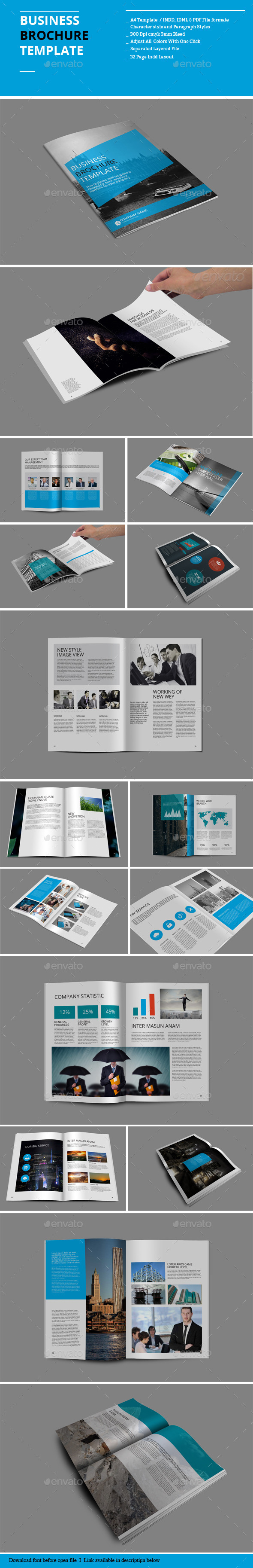 GraphicRiver Business Brochure Templates 8890024