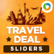 Travel Deal Sliders - GraphicRiver Item for Sale
