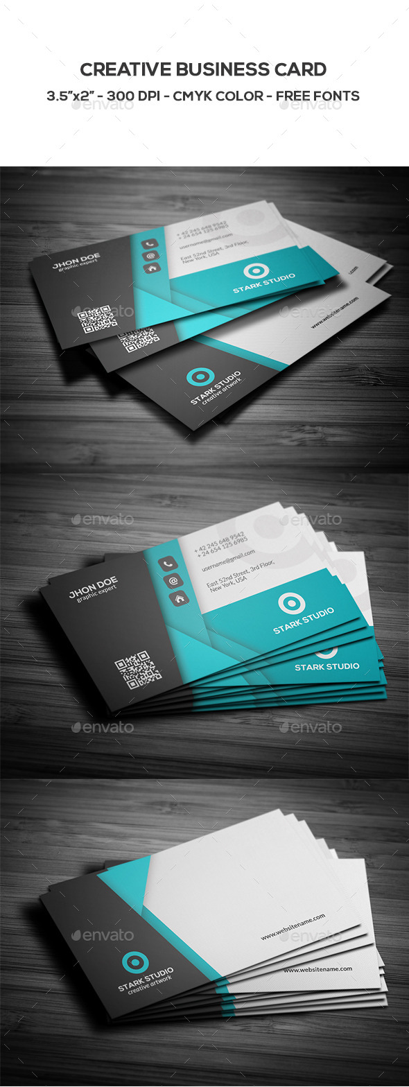 GraphicRiver Creative Business Card 8891015