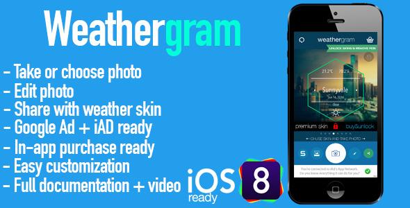 Weathergram - CodeCanyon Item for Sale