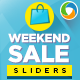 Weekend Sale Sliders - GraphicRiver Item for Sale