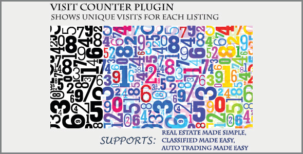 Visit Counter Classifieds Plugin
