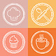 Vector Bakery and Pastry Emblems and Icons - GraphicRiver Item for Sale