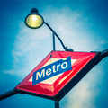 Metro Station Sign - PhotoDune Item for Sale