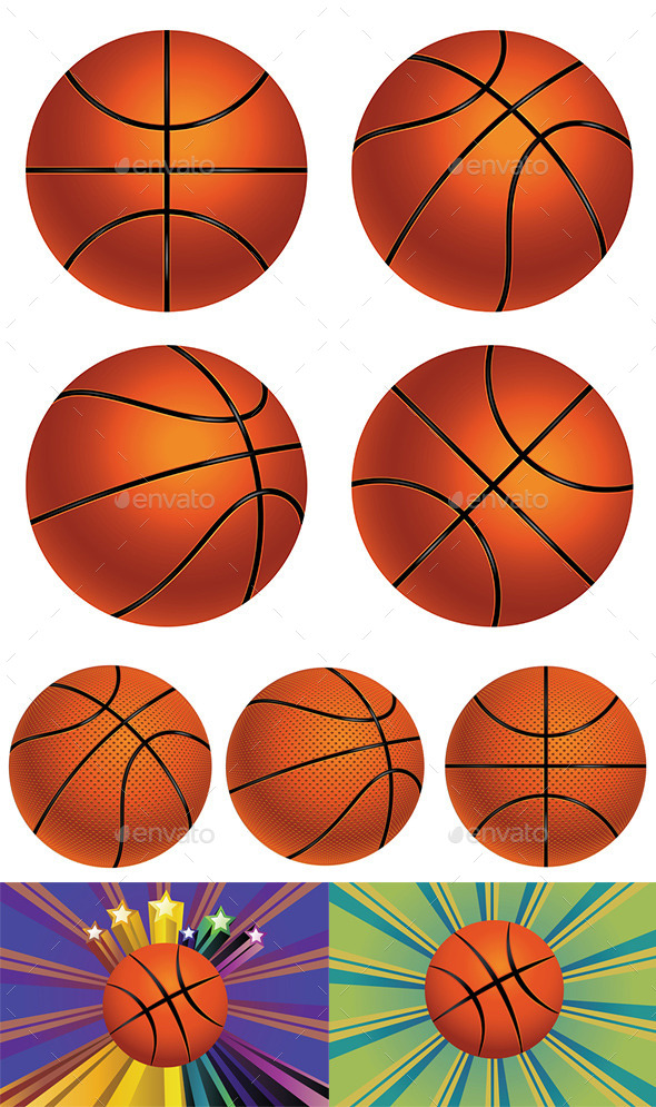 GraphicRiver Basketball Ball 8891539