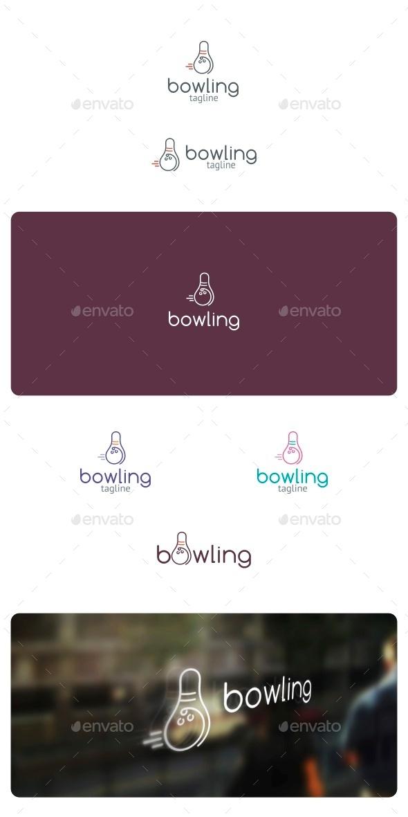 GraphicRiver Bowling Logo 8891544