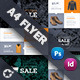 Shopping Flyer Templates - GraphicRiver Item for Sale