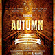 Autumn Equinox Flyer Poster Template - GraphicRiver Item for Sale