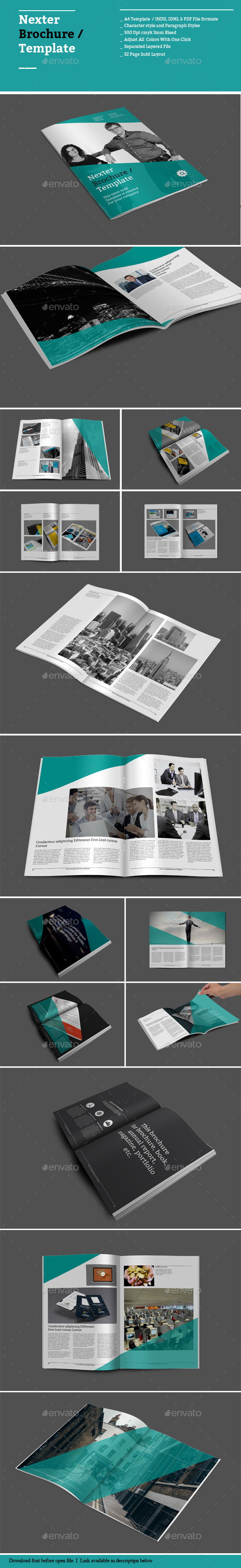 GraphicRiver Nexter Brochure Templates 8891729