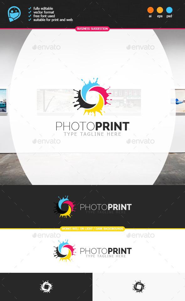 GraphicRiver Photo Print Logo Template 8891758