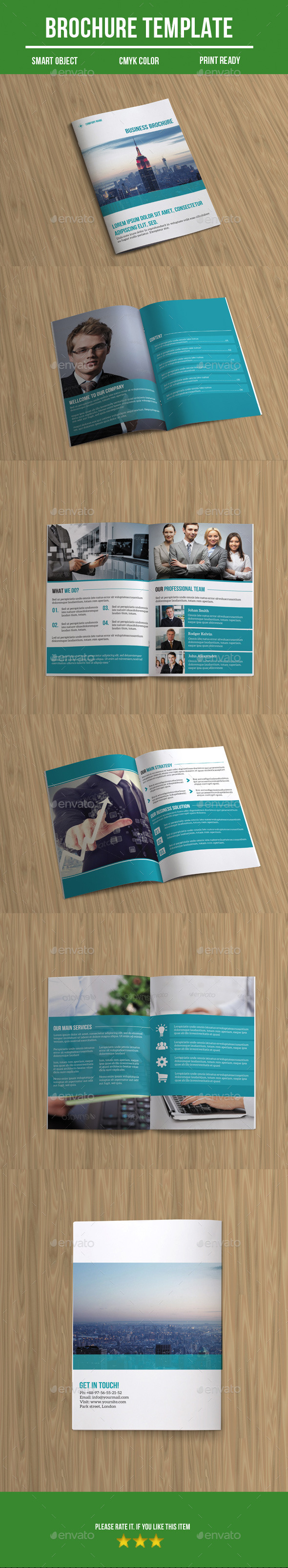 GraphicRiver Bi-Fold Business Brochure 8891980
