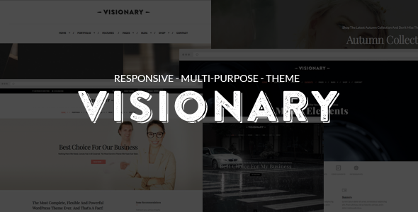 Visionary - Multi-Purpose Drop And Drop Theme