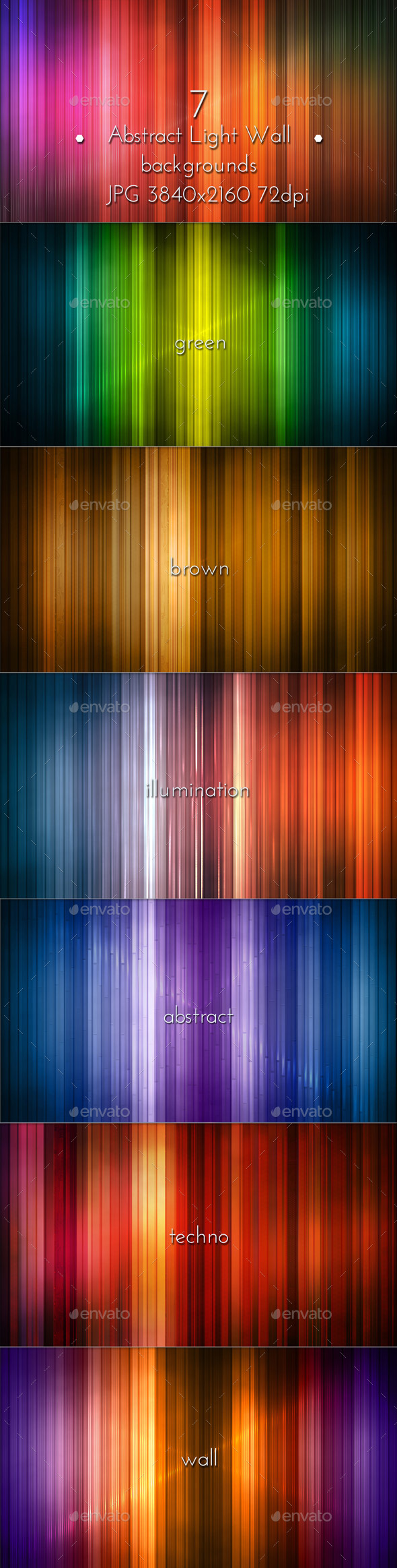 GraphicRiver Abstract Illumination Light Panel 8892052