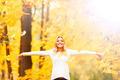 Happy autumn woman  - PhotoDune Item for Sale