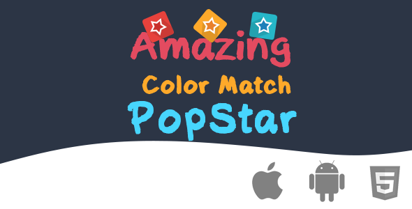 CodeCanyon Amazing Color Match PopStar Html5 Game 8893018