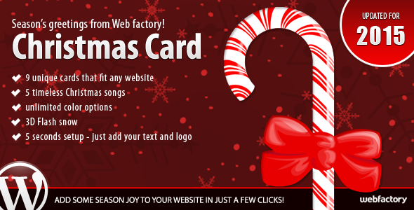 Christmas Card - CodeCanyon Item for Sale