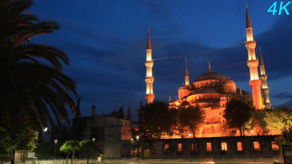 Sultan Ahmet Mosque Blue Mosque In Istanbul 2