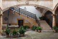 Cozy european patio with well and stairs - PhotoDune Item for Sale
