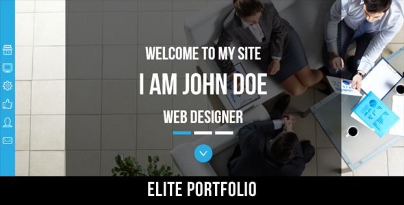 Elite Portfolio - Creative Muse Template