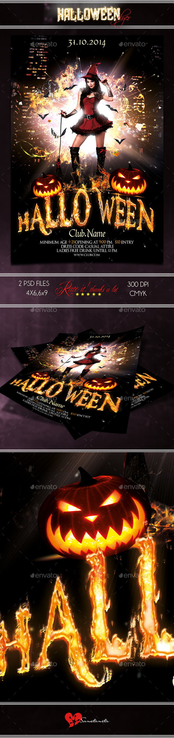 GraphicRiver Halloween Flyer 3 8853462