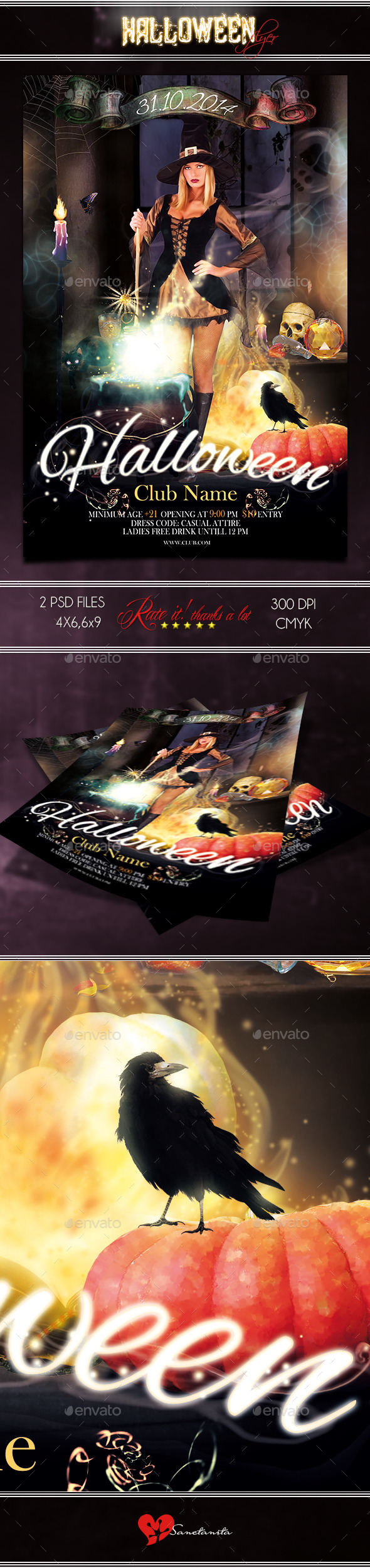 GraphicRiver Halloween Flyer 2 8853467