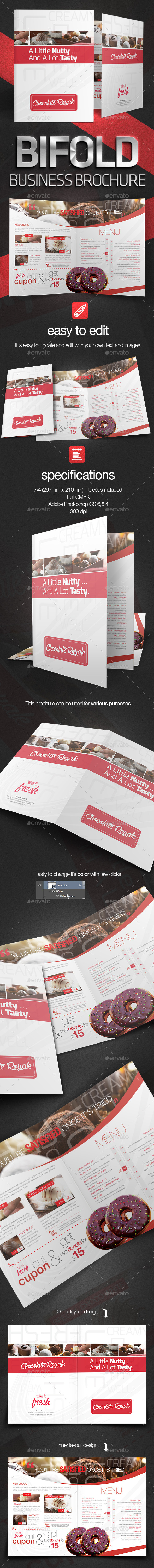 GraphicRiver Bifold Business Brochure 8894721