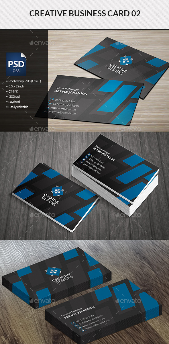 GraphicRiver Creative Business Card 02 8825730